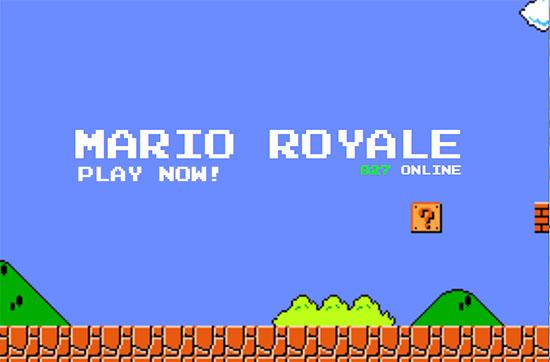 Mario Royale : un Battle Royale gratuit pour les fans de Mario !