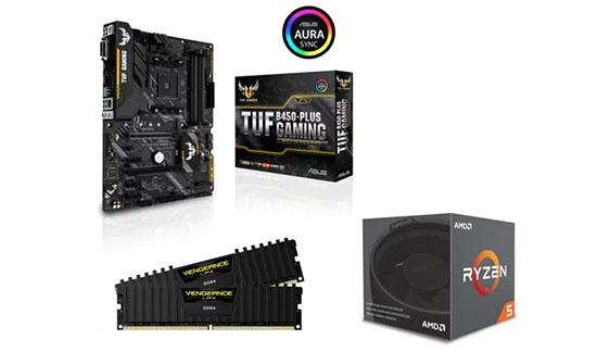 Soldes : 279€ le pack d'upgrade Ryzen 5 + carte mère ASUS + 16 Go RAM !