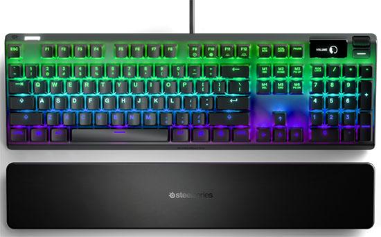 SteelSeries propose deux nouveaux claviers pour les gamers