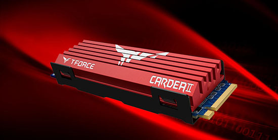 Team Group lance un nouveau SSD : le T-Force Cardea II