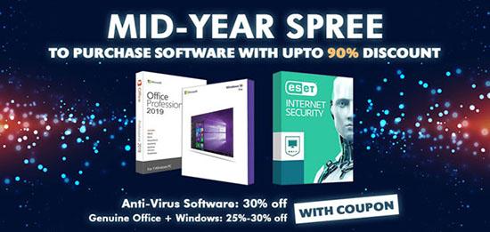 Promos d'été GoodOffer24 : jusqu'à 25% de réduction sur les logiciels et en bonus 30% sur les logiciels antivirus et de sécurité pour Windows, Mac et autres appareils !