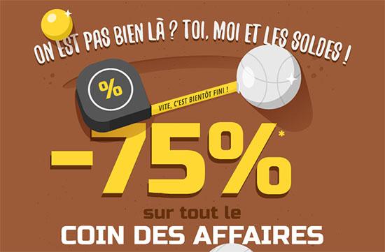 Soldes : 75% de remise sur le coin des affaires de LDLC