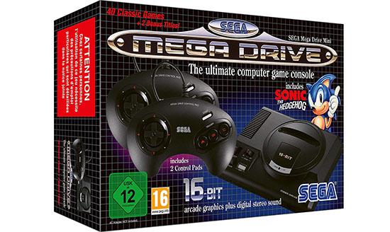 La sortie de la Mega Drive Mini est finalement retardée de deux semaines…