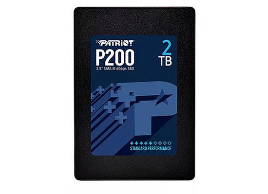 Patriot lance le P200 : un SSD au format 2,5 pouces abordable