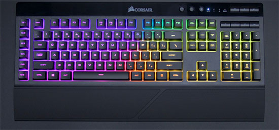 Un nouveau clavier gaming chez Corsair : le K57 RGB Wireless