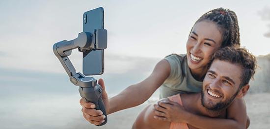 Le fabricant DJI dévoile le stabilisateur DJI Osmo Mobile 3