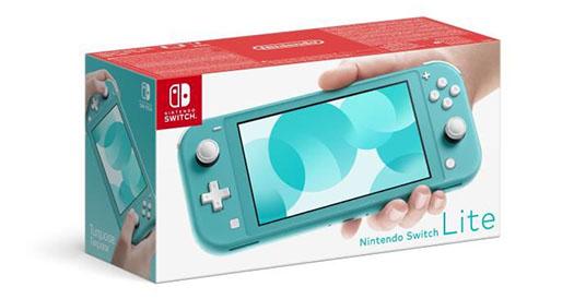 La Nintendo Switch Lite est disponible en précommande