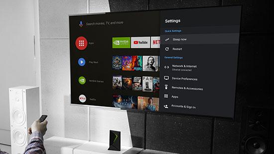La NVIDIA Shield TV a droit à une mise à logicielle et passe sous Android 9 Pie