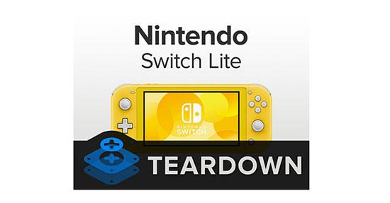 iFixit démonte la Nintendo Switch Lite et lui donne la note de 6/10