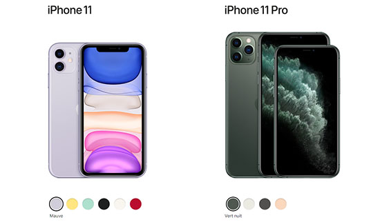 Apple annonce officiellement les iPhone 11, les iPhone 11 Pro et les iPhone 11 Pro Max