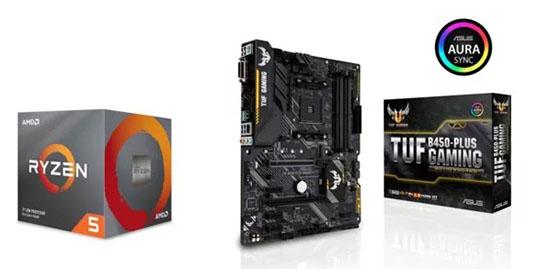 Bon Plan : 174,90€ le pack AMD Ryzen 5 2600 + carte mère ASUS Tuf B450 Gaming Plus (après ODR)