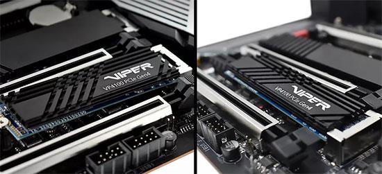 Patriot lance un SSD en PCI Express 4.0 4x : le Viper VP4100 !