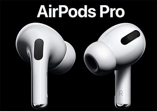 Les nouveaux écouteurs AirPods Pro d'Apple sont disponibles
