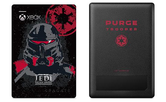 Seagate dévoile une édition spéciale Star Wars de son disque dur Game Drive pour Xbox