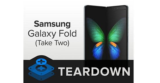 Le Samsung Galaxy Fold se fait démonter par iFixit (dans tous les sens du terme)