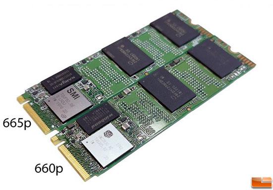 On parle du SSD Intel 665P en mémoire QLC 96 couches