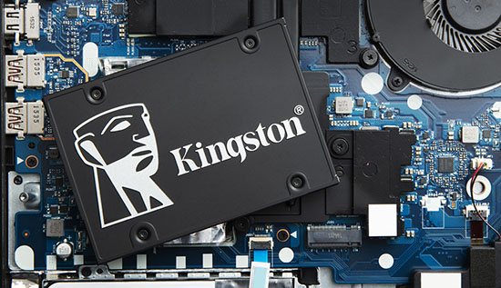 Kingston lance le KC600 : un nouveau SSD de 2,5″ en mémoire TLC 3D