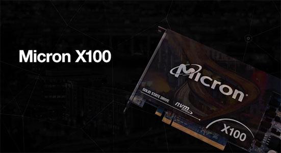 Micron X100 : un SSD rapide comme l'éclair pour les entreprises
