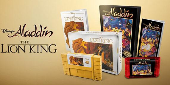 Voilà une réédition des cartouches du Roi Lion et d'Aladdin pour les fans de rétrogaming