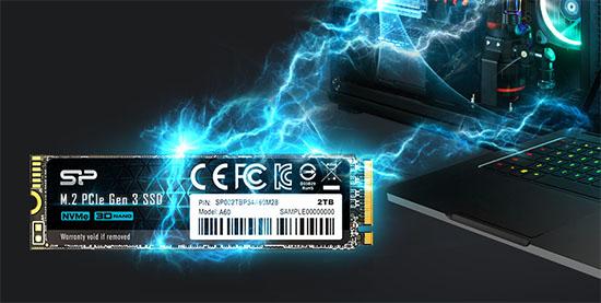 Silicon Power lance le P34A60 : un SSD M.2. NVMe d'entrée de gamme (maj avec les tarifs)