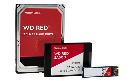 Western Digital lance un disque dur WD RED de 14 To et ajoute des SSD à sa gamme WD RED