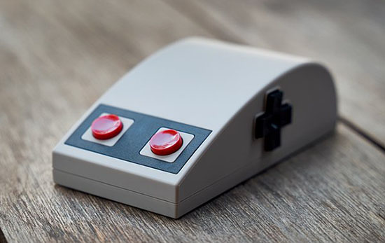 8bitdo présente la N30 : une souris au look rétro pour les fans de la Nintendo NES