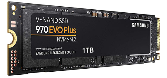 Black Friday : le SSD Samsung 970 EVO Plus de 1 To à 174€ !