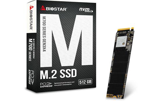 Une nouvelle gamme de SSD M.2. NVMe chez Biostar : les M700