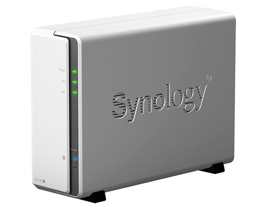 Synology lance le DS120j : un NAS 1 baie d'entrée de gamme (maj : dispo)