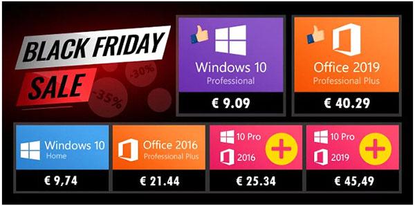 Black Friday : KeysWorlds.com offre 35% de remise supplémentaire sur tous les logiciels. Exemples : Windows 10 Pro à 9,09€ et Office 2016/2019 à prix cassés !