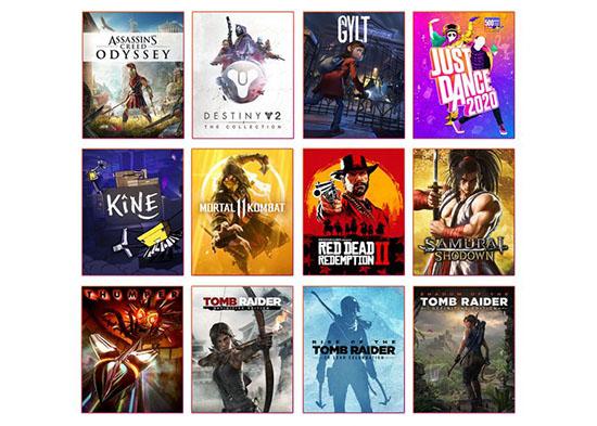 Google Stadia ne comportera que 12 jeux à son lancement