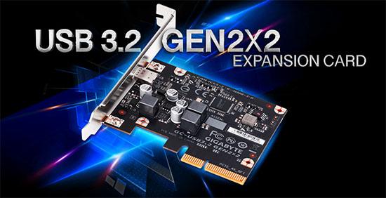 Gigabyte propose une carte d'extension pour ajouter facilement un port USB 3.2 à votre PC