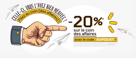 Bon Plan : 20% sur le coin des affaires de LDLC