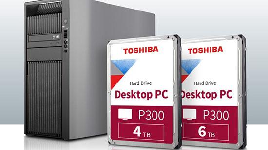 Les disques durs Toshiba P300 silencieux et économes en énergie existent maintenant en versions 4 et 6 To
