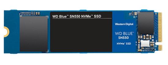 Un nouveau SSD M.2. NVMe : le WD Blue SN550