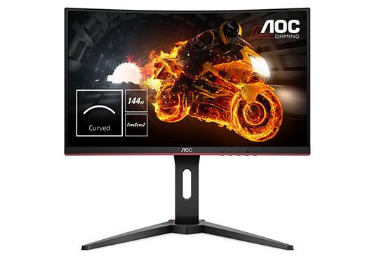 Soldes : l'écran gamer 24″ AOC C24G1 à 179€ chez TopAchat