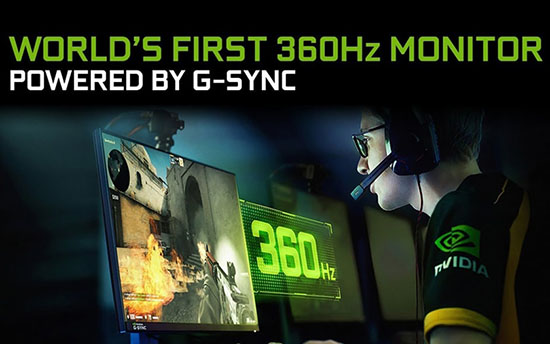 Un moniteur gaming 24,5″ à 360 Hz chez ASUS ROG