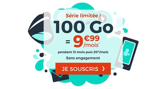 Bon Plan : le forfait 4G avec 100 Go de DATA est de retour à 9,99€/ mois chez CDiscount Mobile