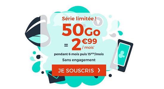 Soldes : le forfait 4G de 50 Go à 2,99€ par mois chez CDiscount Mobile (maj)