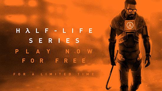 Toute la série Half-Life est jouable gratuitement pendant deux mois