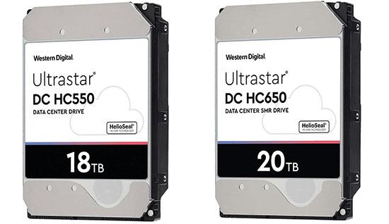 Des disques durs de 18 et 20 To arrivent chez Western Digital