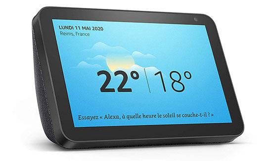 L'écran connecté Echo Show 8 d'Amazon est maintenant disponible à la vente