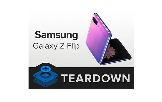 Très difficile à démonter, le Samsung Galaxy Z Flip obtient une note de 2 sur 10 sur iFixit