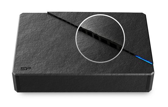 Silicon Power annonce un disque dur externe USB 3.0 au look étrange
