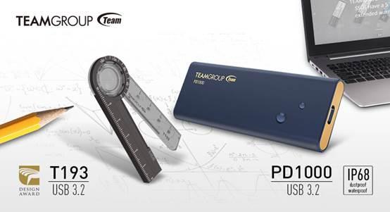 Deux nouvelles unités de stockage chez Team Group : une clé au look original et un SSD portable