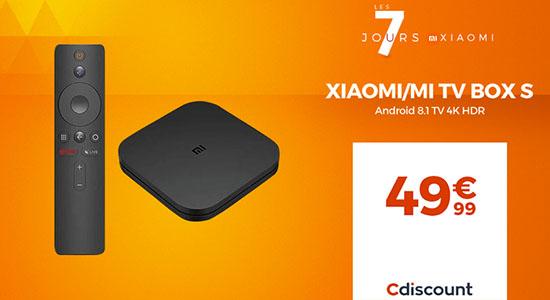Bon Plan : Xiaomi Mi Box S à 49€ sur CDiscount