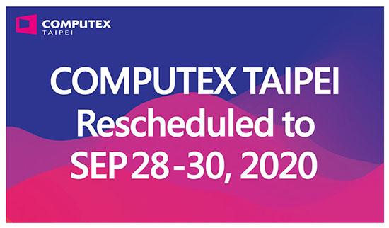 Le Computex est repoussé de juin à septembre pour cause de Coronavirus