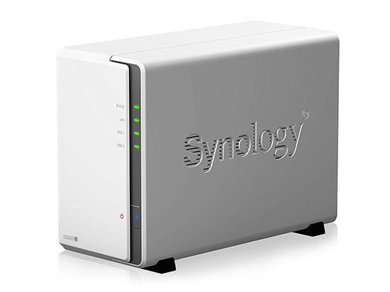 Un nouveau NAS 2 baies débarque chez Synology : le DS220j