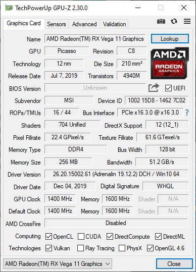 GPU-Z 2.32.0 est disponible en téléchargement