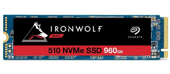 Des SSD M.2. NVMe spécialement adaptés pour les NAS chez Seagate : les IronWolf 510